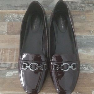 Bandolino Patent Leather Loafers